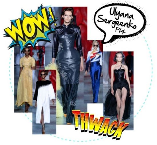 Ulyana sergeenko fall 2014 haute couture