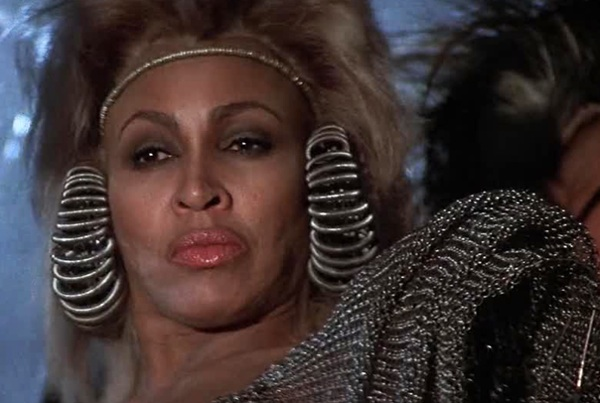 Mad max thunderdome tina turner fashion style costume earrings