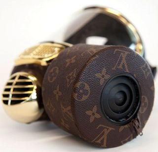 Diddo louis vuitton lv gas mask fashion weapons