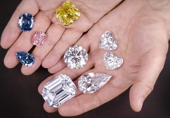 Fancy diamonds gemstones