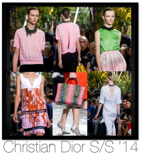 Christian dior preppy trend spring summer 2014