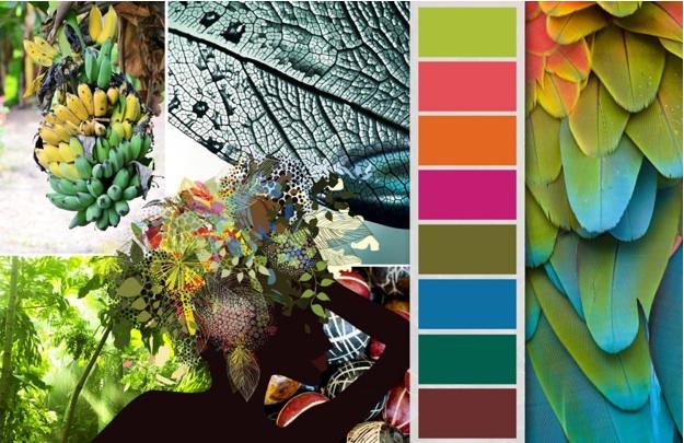tropical rainforest for summer how original fashion color trend