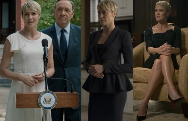 Claire underwood house cards fashion style