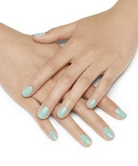 S s green mint nail polish manicure
