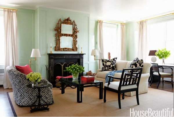 Hemlock vreeland mint green wall paint home decor