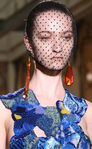 Margiela van gogh iris dress fall 2014