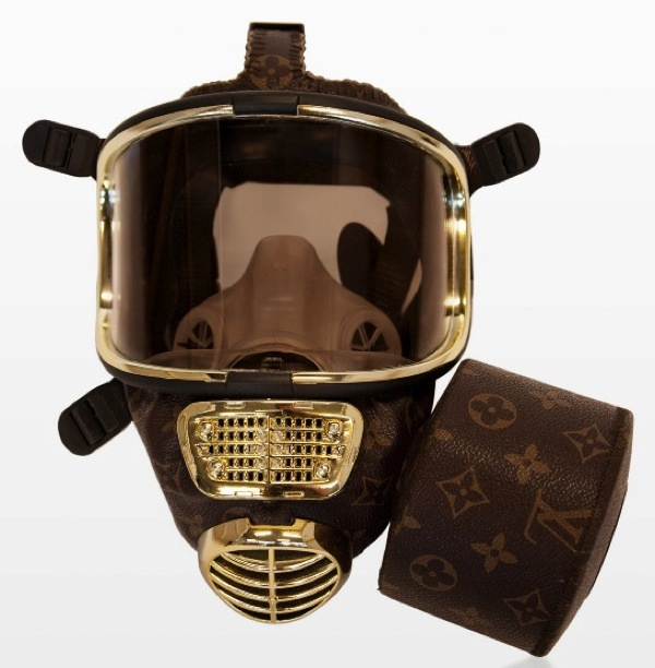 Diddo fashion weapons louis vuitton LV gas mask