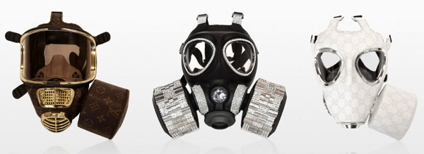 Diddo fashion designer gas mask