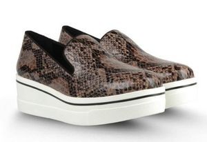 Ethical fashion stella mccartney vegan snakeskin shoes sneakers