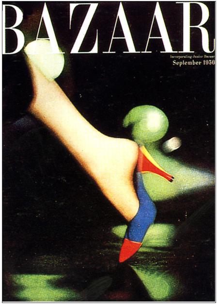 Alexey brodovitch bazaar cover 50s