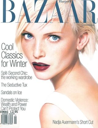Bazaar 1994 90s fashion magazine cover