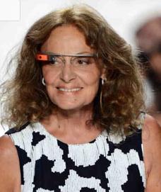 Google glass diane von furstenberg dvf