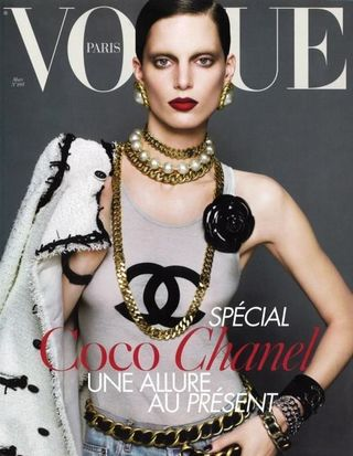 Chanel top luxury brand vogue iris