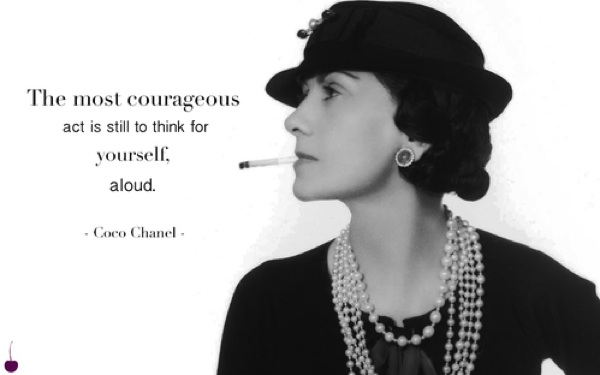 Coco chanel sayings