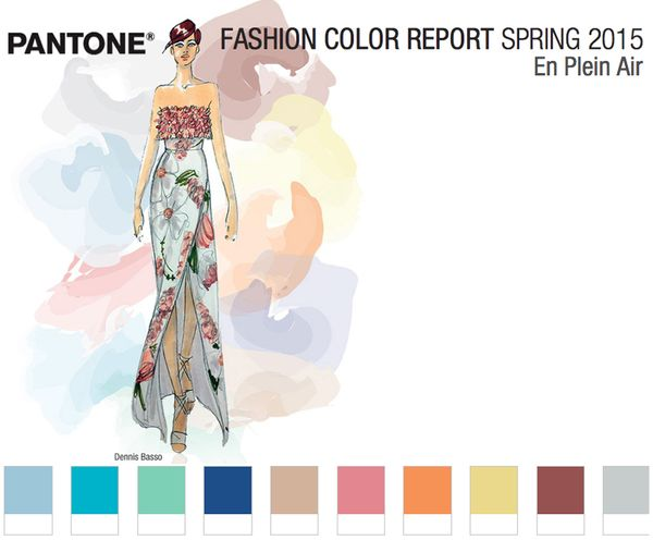 Pantone spring 2015 fashion colours colors report