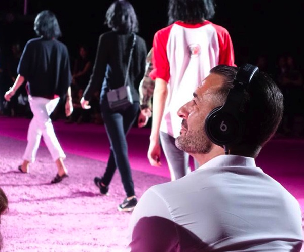 Marc jacobs beats by dre fashion show spring 2015