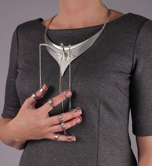 Jennifer crupi gesture jewelry jewellery necklace