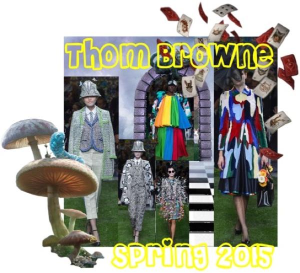 Thom browne spring 2015