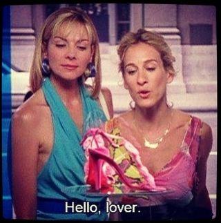 Carrie bradshaw hello lover