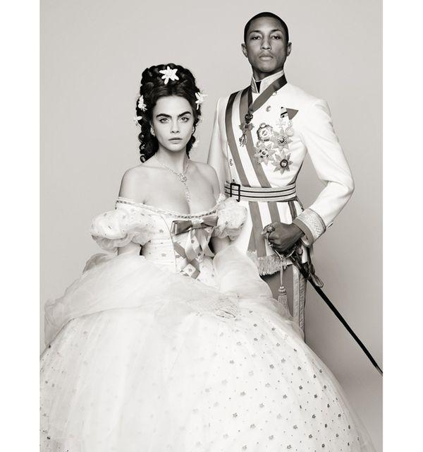 Chanel reincarnation pharrell movie karl lagerfeld