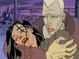 Aeon flux and trevor cartoon