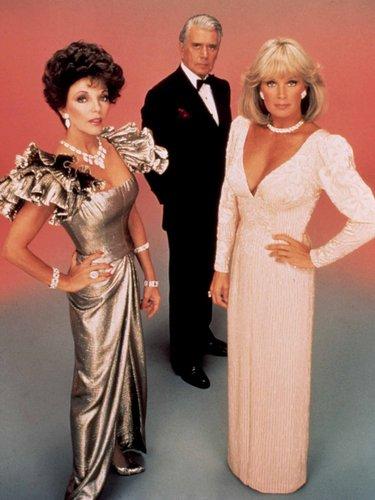 Dynasty high 80s fashion glam glamour