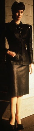 Rachael blade runner costume wardrobe fashion pencil skirt