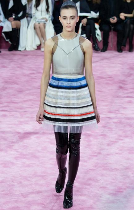 Christian dior haute couture pvc vinyl spring 2015