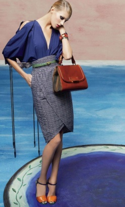 Luxury shopping fendi spring 2011 campaign