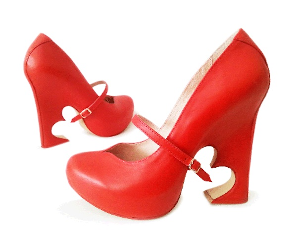 Kobi levi red heart shoes
