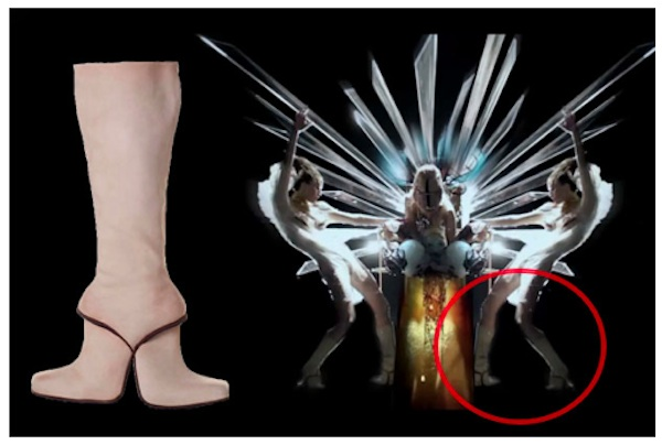 Lady gaga born this way kobi double boots