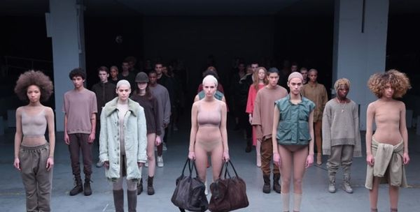 Kanye adidas yeezy fashion week collection show fall 2015