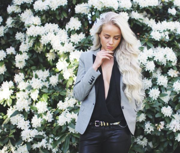 Scandinavian norwegian fashion blogger
