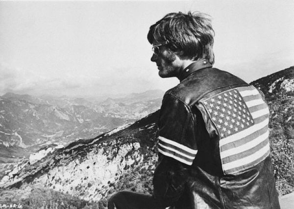 Easy rider american flag jacket peter fonda