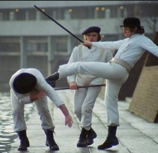 Fashion in clockwork orange
