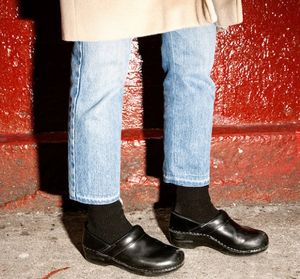 Normcore clogs shoes fashion