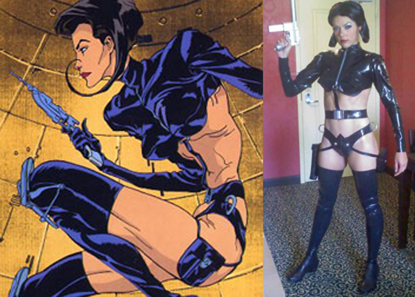 Aeon flux outfit costume
