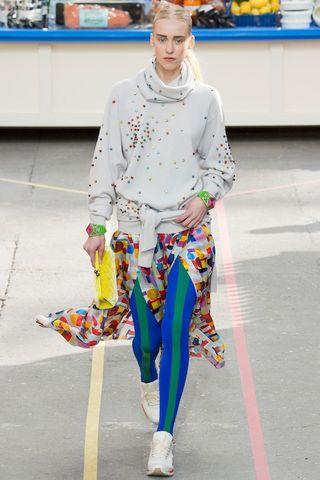 Chanel fall 2014 supermarket supermarche normcore fashiont trend