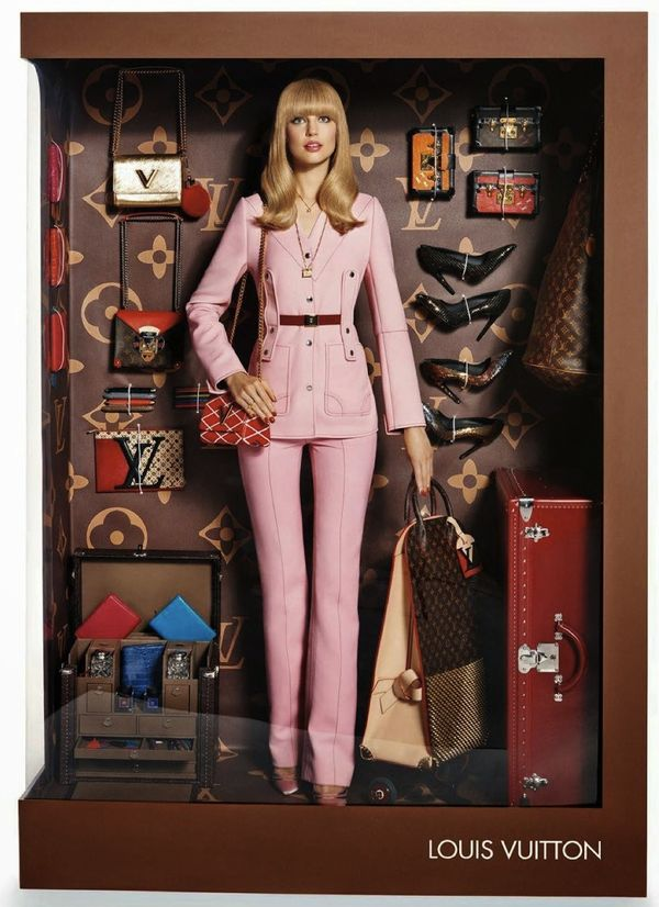 Fashion barbie vuitton french vogue panoplies
