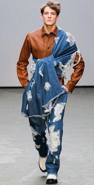 Xander zhou wild west denim cowboy fashion