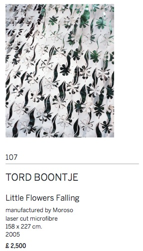 Tord boontje little flowers falling art textiles fashion