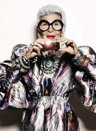 Iris apfel fashion style