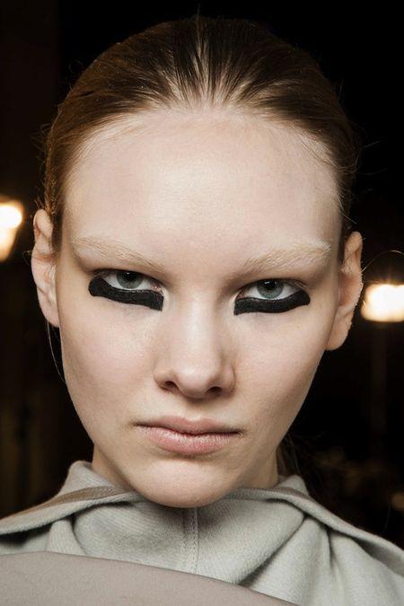 Clockwork orange makeup fashion trend rick owens