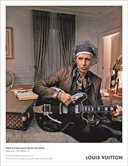 Vuitton keith richards