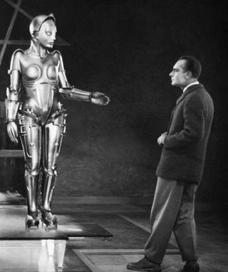 Fritz lang metropolis robot