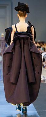 Margiela fall 2015 detail coat back