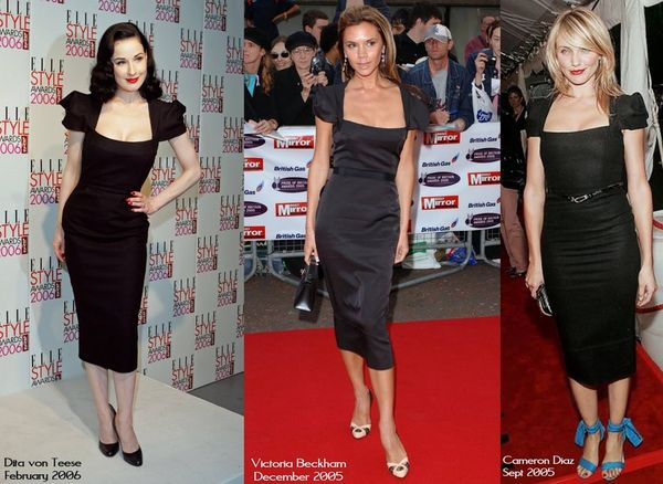 Roland mouret galaxy dress celebs celebrities