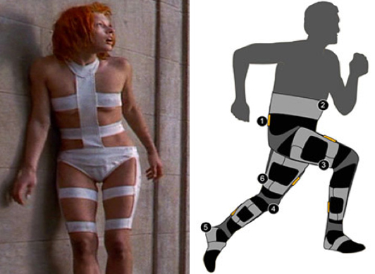 Fifth element soft exosuit wearable robot
