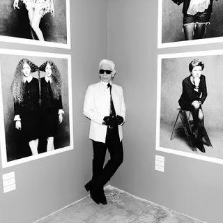 Karl lagerfeld little black jacket chanel exhibit exhibition