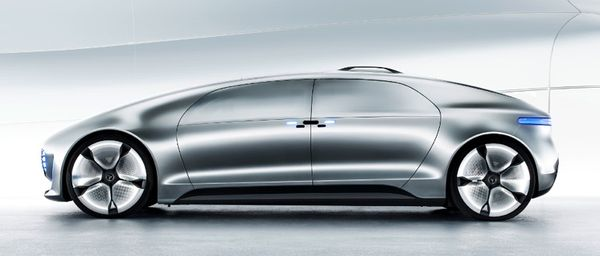 Mercedes f 015 self driving car